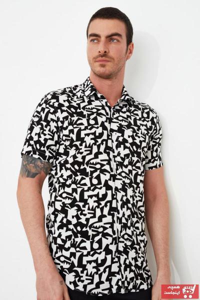 ست پیراهن مردانه مارک ترندیول مرد رنگ مشکی کد ty86937605