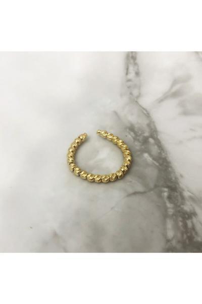 انگشتر زنانه ارزان قیمت برند Famir Gümüş رنگ طلایی ty87878088