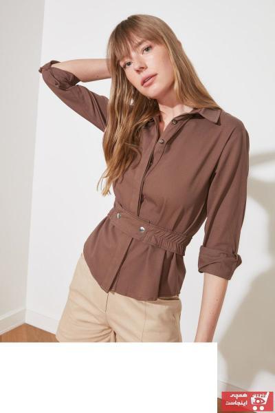 سفارش ژاکت زنانه ارزان برند ترندیول میلا ترک رنگ بژ کد ty88243769