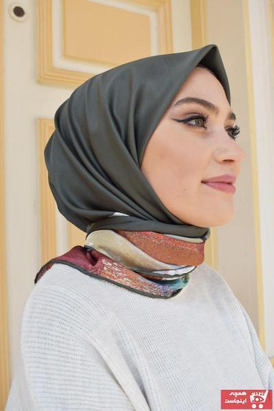 فروش پستی ست روسری زنانه برند MaPolien رنگ خاکی کد ty88592811