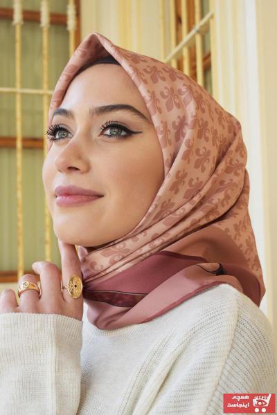 روسری زنانه ترک برند MaPolien رنگ صورتی ty88773242