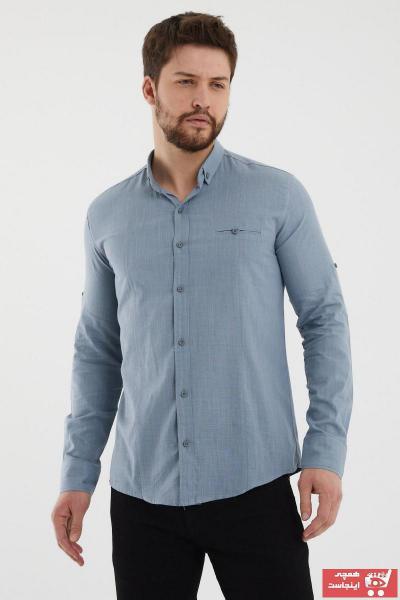 فروشگاه پیراهن اورجینال برند Giyenbilir رنگ لاجوردی کد ty89066087
