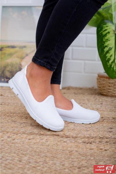کفش تخت طرح دار برند Beyond کد ty89382513