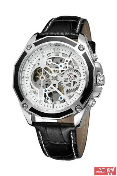 خرید انلاین ساعت مردانه برند Forsining رنگ مشکی کد ty89413733