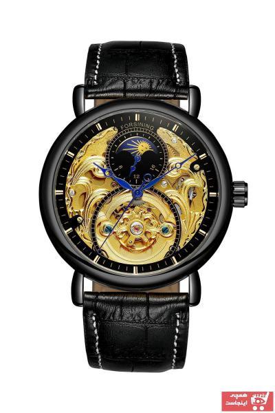 خرید ساعت مچی مردانه  جدید برند Forsining رنگ مشکی کد ty89461532