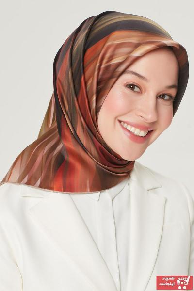 روسری زنانه جدید برند Armine رنگ خاکی کد ty89954520