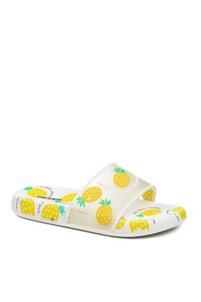 دمپایی بچه گانه پسرانه اینترنتی برند GEZER رنگ زرد ty90095436