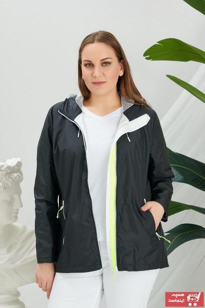 بارانی زنانه جدید برند RMG رنگ مشکی کد ty90556551