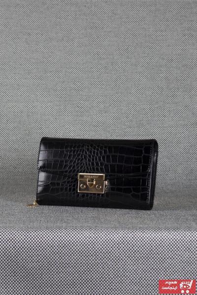 فروش کیف دستی دخترانه ترک مجلسی برند Queen Elizabeth رنگ مشکی کد ty90559621