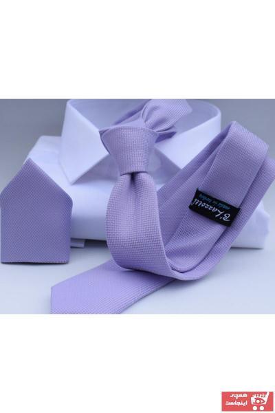 خرید پستی کراوات جدید برند Blazzotti رنگ بنفش کد ty90942293