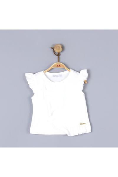 خرید انلاین بلوز نوزاد دختر ترکیه برند nk kids رنگ بژ کد ty91043256