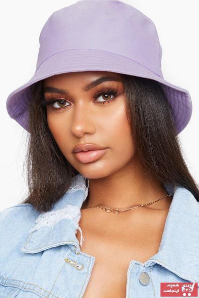 خرید نقدی کلاه مردانه ترک  برند Y-London رنگ بنفش کد ty91172164