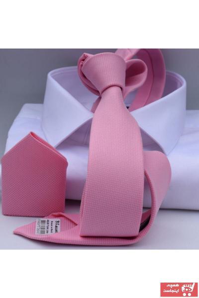 کراوات جدید برند Blazzotti رنگ صورتی ty91357473