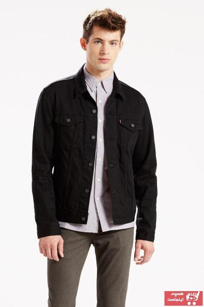 فروش ژاکت لی جدید برند لیوایز رنگ مشکی کد ty913877
