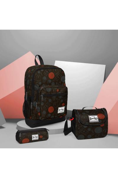 خرید اینترنتی کیف مدرسه بچه گانه دخترانه برند Coral High رنگ مشکی کد ty91436454