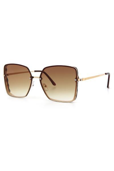 عینک آفتابی زنانه طرح دار برند Aqua Di Polo 1987 رنگ قهوه ای کد ty91562199