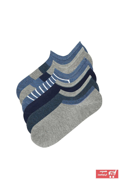 حرید اینترنتی جوراب مردانه ارزان برند Penti رنگ قهوه ای کد ty91641026