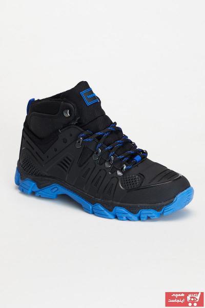 خرید نقدی کفش بوت مردانه فروشگاه اینترنتی برند تونی بلک اورجینال رنگ مشکی کد ty91708310