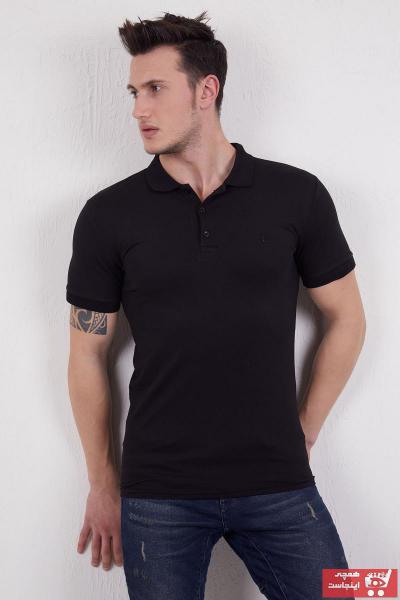 تیشرت مردانه فروش برند Ette رنگ مشکی کد ty92101085