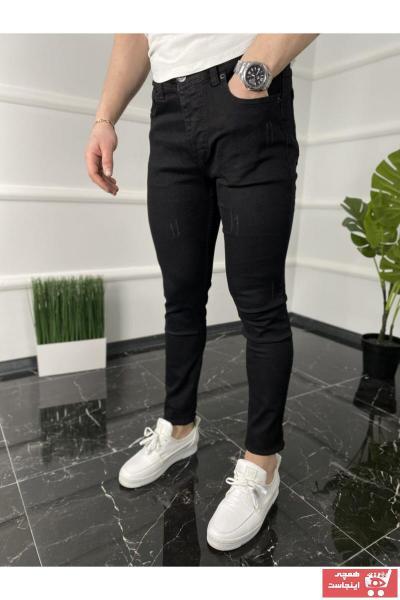 خرید شلوار جین از ترکیه برند ukdwear رنگ مشکی کد ty92490299