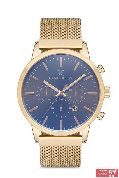 خرید پستی ساعت مردانه  ارزان برند Daniel Klein رنگ زرد ty92600204