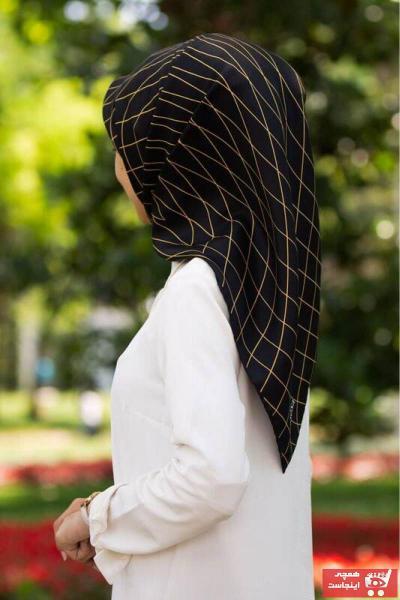 روسری زنانه مدل برند Vissona رنگ زرد ty92874566