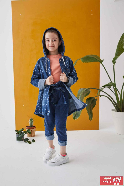 ژورنال ژاکت دخترانه برند Mutlu Kids رنگ آبی کد ty92899307