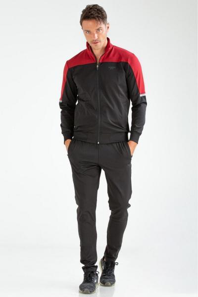 ست اسلش و گرمکن مردانه 2020 برند speedlife رنگ قرمز ty92911964