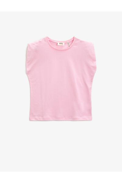 مدل تیشرت دخترانه  برند کوتون رنگ صورتی ty93098713