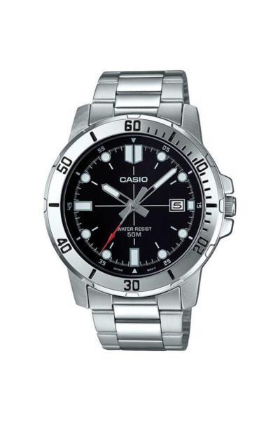 خرید آنلاین ساعت مردانه برند Casio رنگ نقره ای کد ty93737076