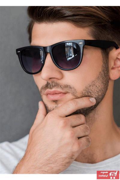 عینک دودی مردانه ارزان قیمت برند Tezzgelsin رنگ مشکی کد ty93810491