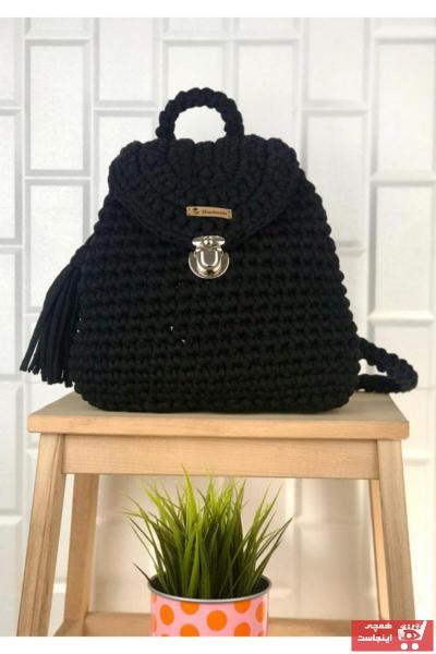 کوله پشتی شیک زنانه برند G&MORE boutique رنگ مشکی کد ty93877798