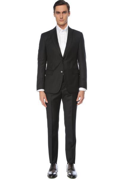 کت شلوار مردانه اورجینال برند Network رنگ نقره ای کد ty94364726