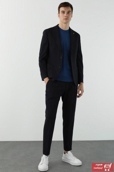 کت شلوار 2021 مدل جدید برند Network رنگ لاجوردی کد ty94365425