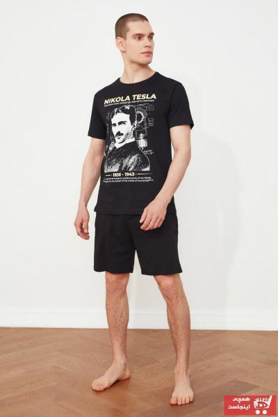 خرید ست راحتی مردانه ترک جدید برند ترندیول مرد رنگ مشکی کد ty94401462