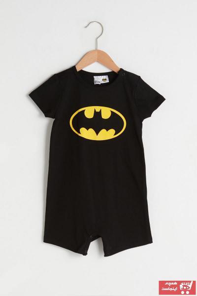 سرهمی نوزاد پسرانه شیک برند ال سی وایکیکی رنگ مشکی کد ty94893896