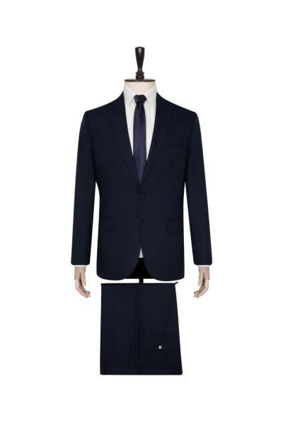 خرید پستی کت شلوار مردانه پارچه  برند SÜVARİ رنگ لاجوردی کد ty95049776