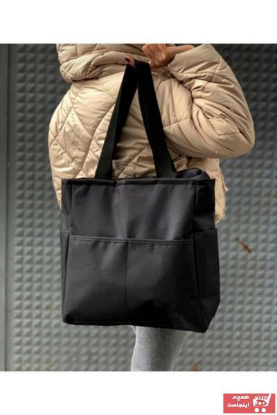 خرید اینترنتی کیف ورزشی زنانه از استانبول برند LİNA BAGS رنگ مشکی کد ty95165651
