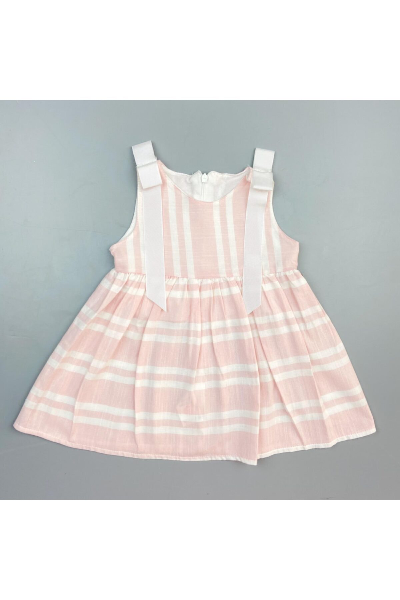 لباس مجلسی نوزاد دخترانه ترک جدید برند Flexibaby رنگ صورتی ty95168505
