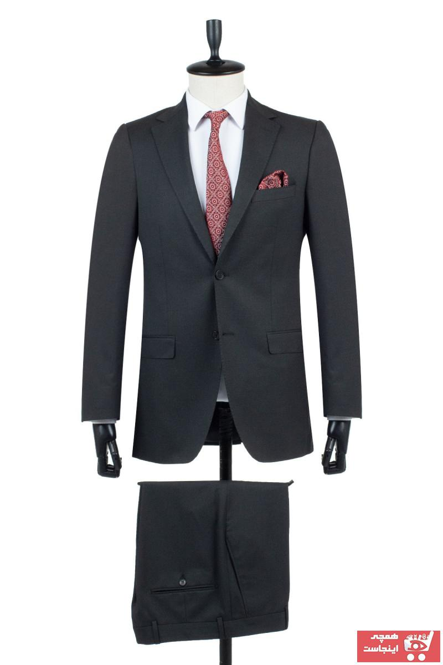کت شلوار مردانه ارزان برند İmza رنگ مشکی کد ty95510337