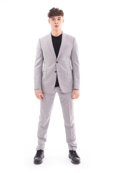 خرید پستی کت شلوار اورجینال مردانه برند امپریو آرمانی رنگ نقره ای کد ty95773148