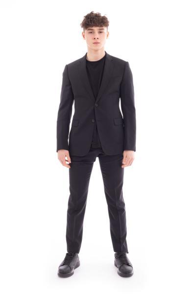 کت شلوار مردانه اصل جدید برند امپریو آرمانی رنگ مشکی کد ty95812203