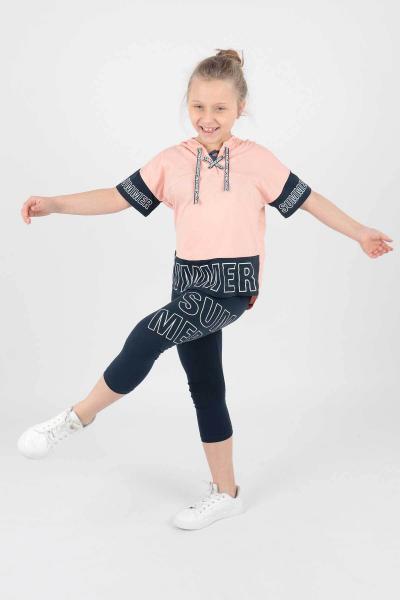 خرید اینترنتی ست لباس بلند برند Ahenk Kids رنگ صورتی ty96006393