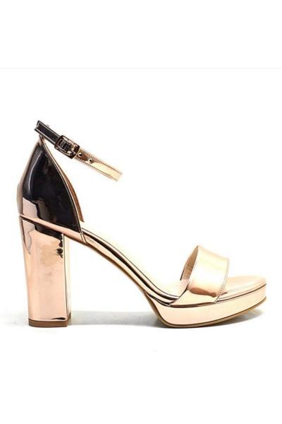 خرید کفش پاشنه بلند مجلسی از ترکیه برند Feta ayakkabı رنگ صورتی ty96032546