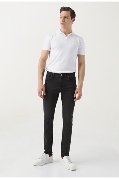 شلوار جین مردانه شیک مجلسی برند DS Damat رنگ مشکی کد ty96040088