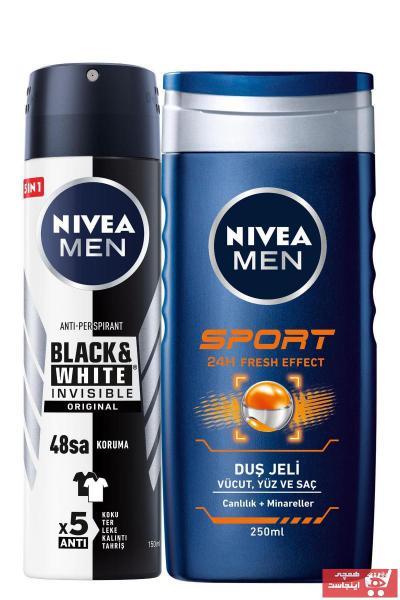 خرید پستی اسپری اصل مردانه برند Nivea  ty96526253
