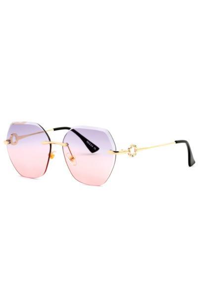 عینک آفتابی فانتزی زنانه برند Polo U.K. رنگ صورتی ty96688015