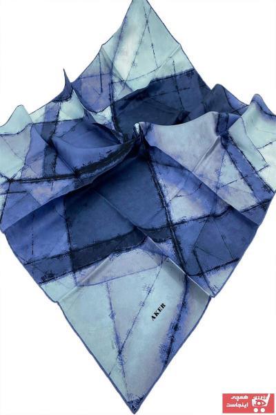 خرید اینترنتی روسری زنانه برند Aker رنگ آبی کد ty96992795