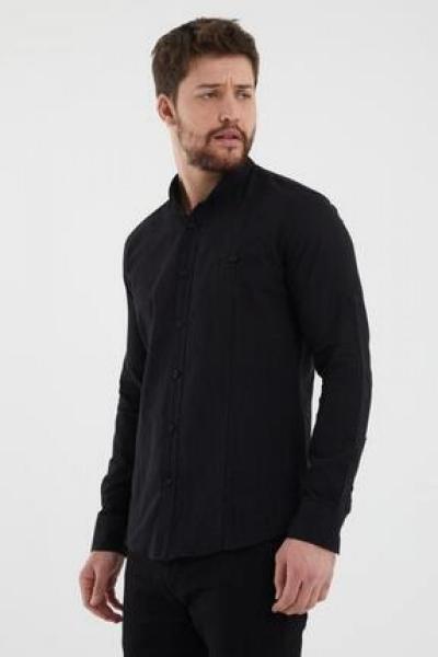 فروش نقدی پیراهن مردانه خاص برند Giyenbilir رنگ مشکی کد ty97186880