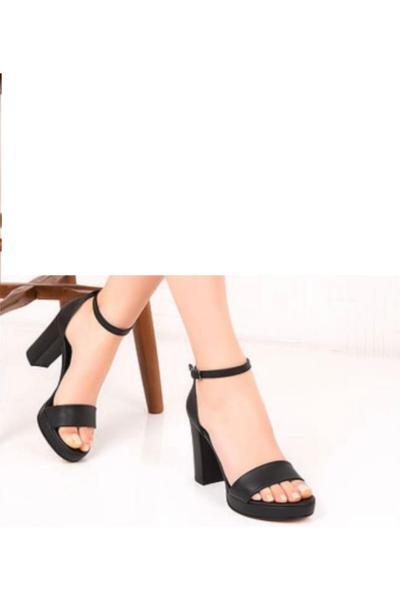 خرید مستقیم پاشنه بلند مجلسی جدید برند Feta ayakkabı رنگ مشکی کد ty97484097